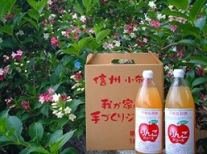 画像1: 葉とらずりんごジュース・ミックス3本